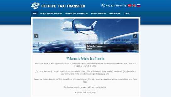 Fethiye Taxi Transfer